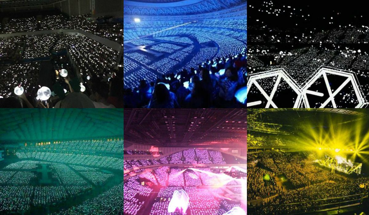 Kpop Official Fanclub Names and Colors