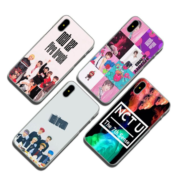NCT Print Case for Apple iPhone (12 types)
