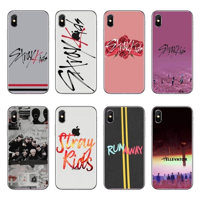 Stray Kids Silicone Soft Case for iPhone